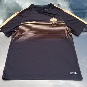 Awesome Nike Dri-Fit ROMA Shirt L Runs Small EUC